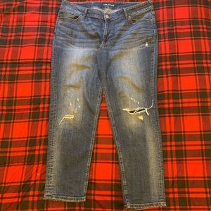 Maurices Distressed Skinny Jeans Size 20 Plus Size